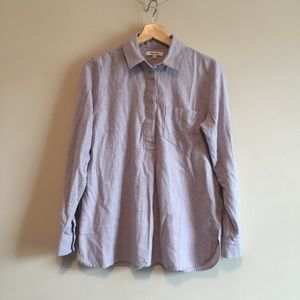 madewell | flannel ex-boyfriend button-back shirt